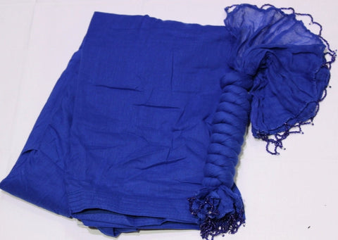 BLUE COTTON FULL PATIALA