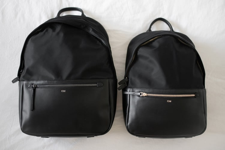 travel-blogger-whats-in-my-bag-ism-backpack-sizes