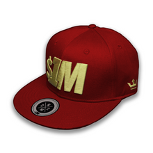$1M Cap Authentic Burgundy/Gold
