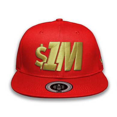 $1M Cap Authentic Red/Gold