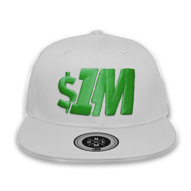 $1M Cap Authentic White/Green
