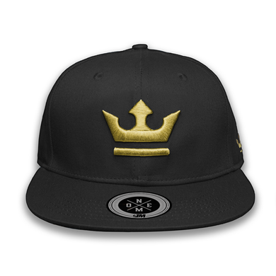 Crown Cap $1M Black/Gold
