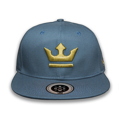 Crown Cap $1M Turquoise/Gold