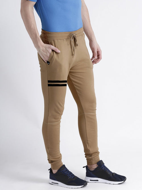 Young Trendz Mens Jogger Brown Color Lines Track Pants