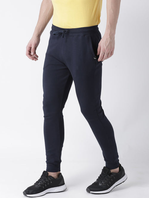 Young Trendz Mens Jogger Navy Color Solid Track Pants