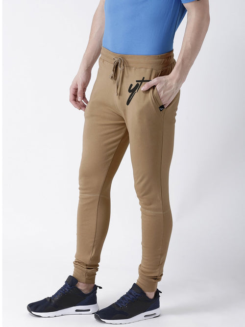 Young Trendz Mens Jogger Brown Color YT Printed Track Pants