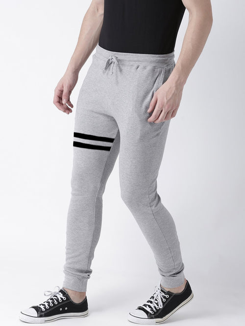 Young Trendz Mens Jogger Grey Color Lines Track Pants