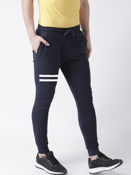 Young Trendz Mens Jogger Navy Color Lines Track Pants
