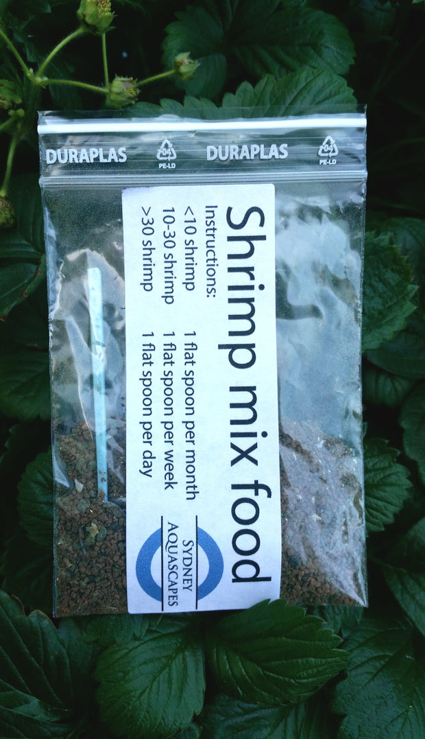 10g Full diet shrimp food-Food-Sydney Aquascapes