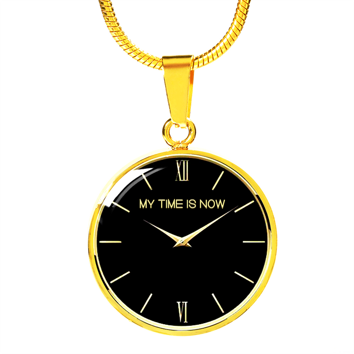 TIME GOLD NECKLACE