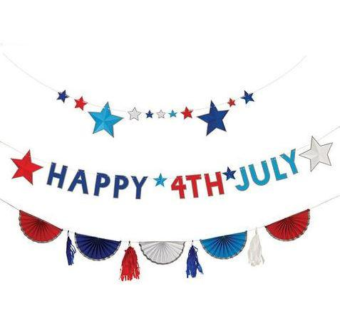 Meri Meri - Happy 4th of July Garland