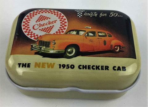 The New 1950 Checker Cab - Mini Tin Box