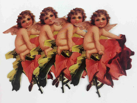 Vintage Cupid Valentines Day Tags