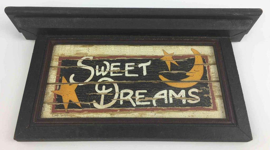 Sweet Dreams - Wooden Sign