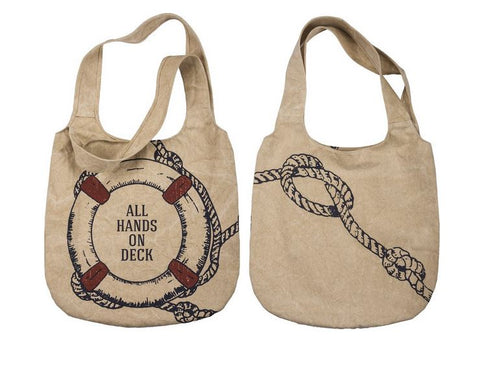 All Hands on Deck Market Canvas Bag