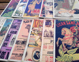 Vintage Design Posters Postcard Set