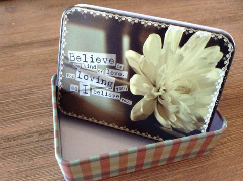 Medium - Believe Tin Box