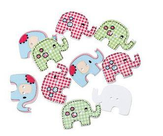 Adorable Elephants - Color Mix - 10