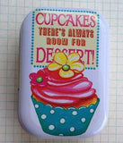 Always Room for Cup Cakes - Mini Tin Box