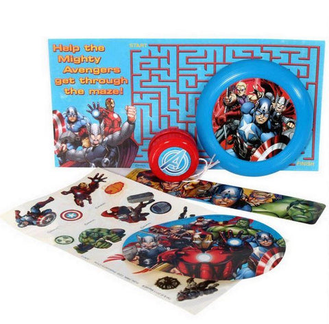 Avengers Party Favors Pack for 8 (48pcs)