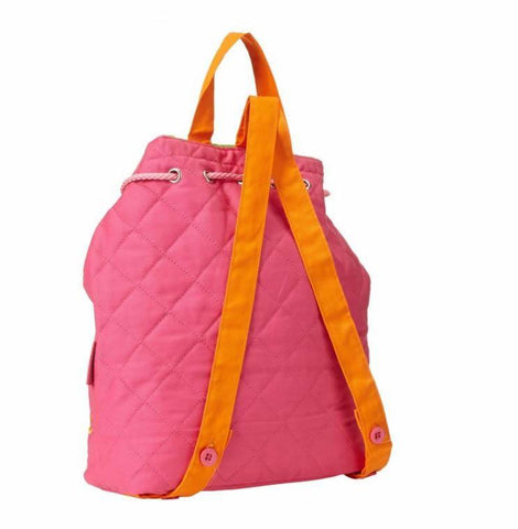 Stephen Joseph Quilted Butterfly Backpack in Pink and Purple