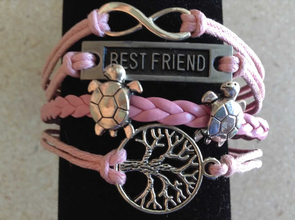 Best Friend Bracelet - Pink