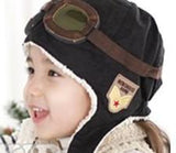 Boys Hats - Brave Pilot - Black