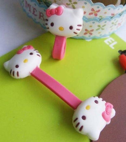 Cable Clip Hello Kitty Pink