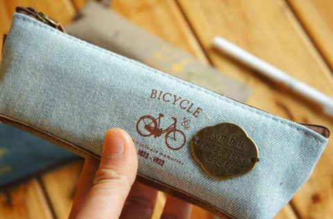 Canvas Snbu Bicycle Faded Denim