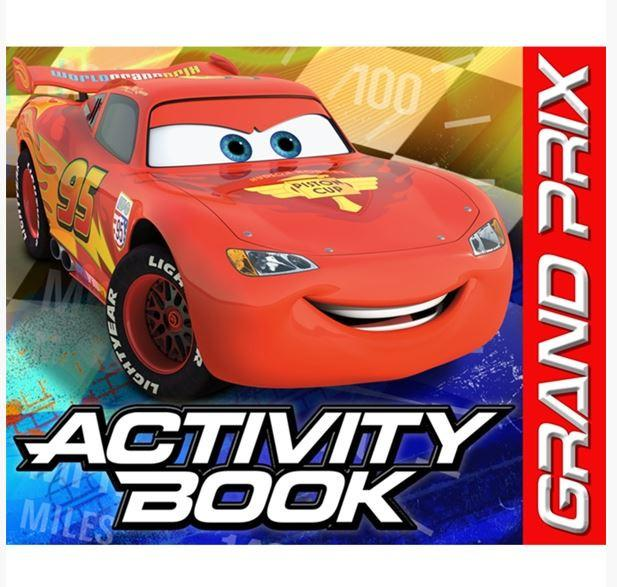 Cars Party Activity Books (4)
