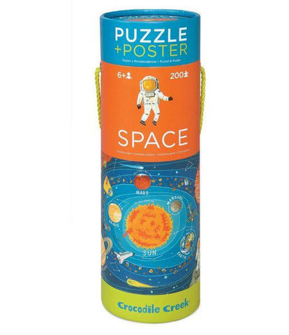Crocodile Creek Space Puzzle