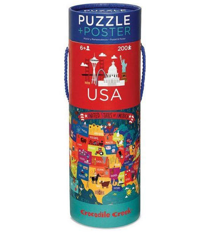 Crocodile Creek USA Puzzle