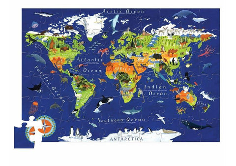 Crocodile Creek World Puzzle