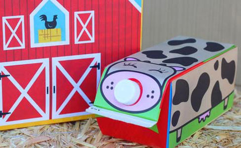 Cereal Box, Red Barn