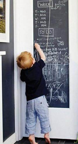 Chalkboard Stickers, Writable Vinyl Roll, Large