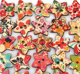 Charming Stars, Colorful Floral Mix, 10