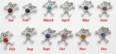 Cheerful Boys Birthstones