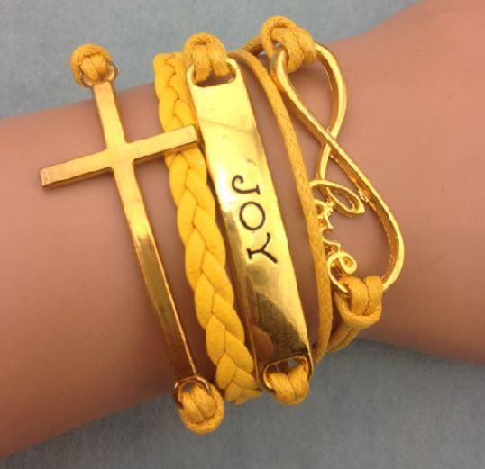 Cross Gold - Joy - Yellow