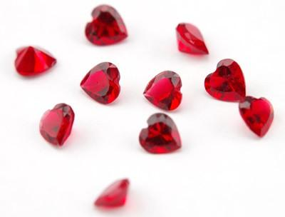 Crystal Hearts - Red