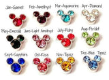Crystal Mickey Mouse Birthstones