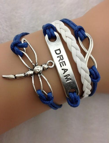 Dream, Infinity - Blue, White