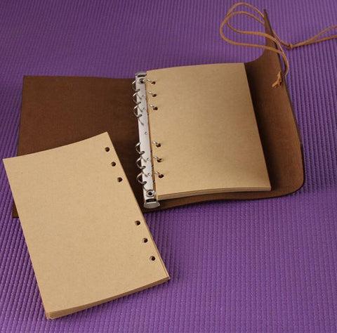 Embossed Wrap Journal - Purple