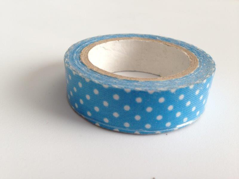 Fabric Tape - Blue Dots