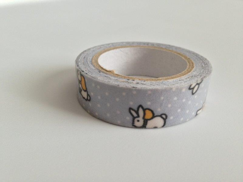 Fabric Tape - Bunnies