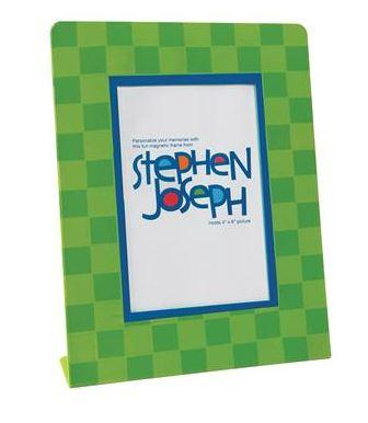 Stephen Joseph Green Metal Picture Frame