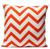 Red & White Chevron