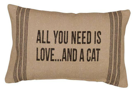 All you Need is Love...and a Cat  and Insert