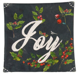 Joy Pillow Case | Throw Pillow | Joy Pillow | Home Decor | Christmas Pillowcases | Christmas Decor | Winter Decor Ideas | Holly Pillow | Joy