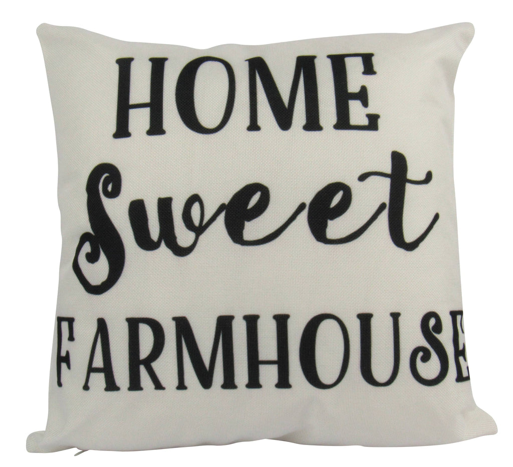 Home Sweet Farmhouse on White