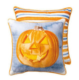 "JackOLantern 14"" Square Pillow & Insert"